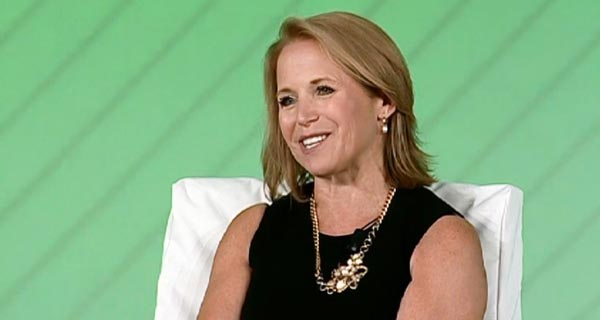 Katie Couric, Gillian Tett - Keynote Address