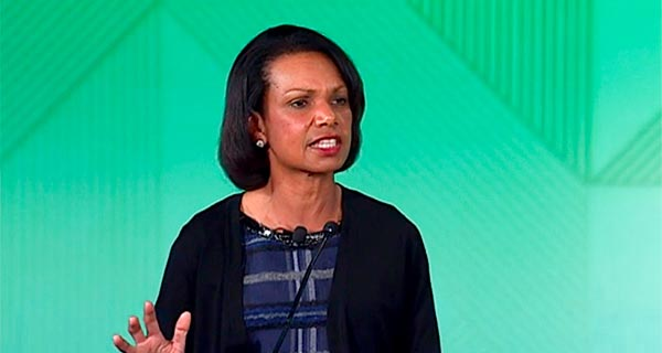 "Condoleezza Rice - ""Keynote Address"""