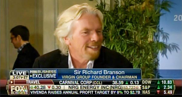 Sir Richard Branson - Fox Business Network from the GFLC