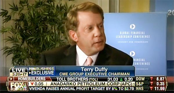 Terry Duffy - Fox Business Network from the GFLC