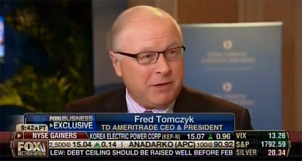 Fred Tomczyk - Fox Business Network from the 2013 GFLC