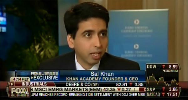 Sal Khan - Fox Business Network from the 2013 GFLC