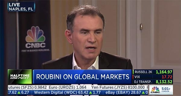 Nouriel Roubini - CNBC from the 2015 GFLC