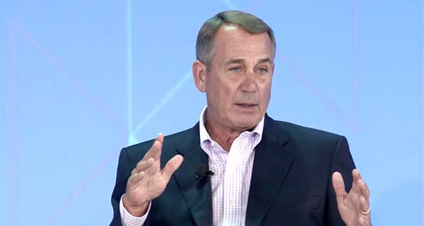 John Boehner - Rebuilding Trust Between the American People and Washington