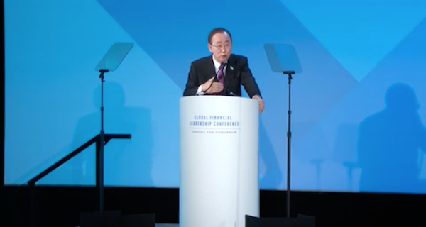 Ban Ki-Moon, Alexandra Scaggs - The Imperative of Global Leadership.